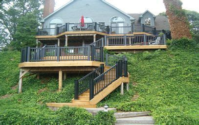 gorgeous multilevel deck great decks  porches