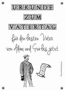Bastelideen Zum Vatertag : gutscheine oder urkunde zum vatertag christliche perlen ~ Frokenaadalensverden.com Haus und Dekorationen