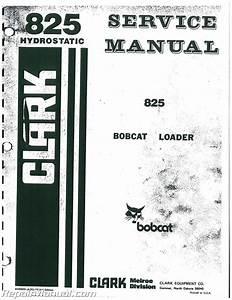 Bobcat 825 Service Manual
