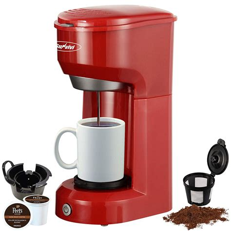 4.6 out of 5 stars with 26 ratings. K-Cup Coffee Maker, Single Serve Coffee Brewers with Permanent Filter, 6-14OZ Reservoir One ...