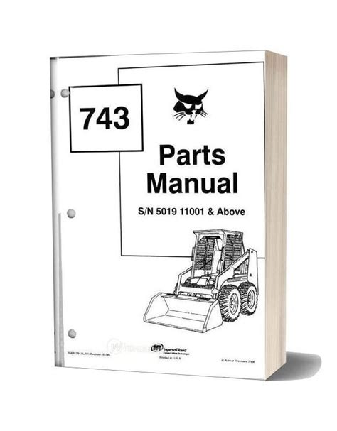 Bobcat 741 Wiring Diagram by Bobcat 741 742 743743 Parts Manual Cleaned