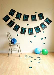 Celebrate With A Banner Creative Birthday Signs For