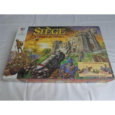 siege de jeux siège a l 39 attaque du chateau jeu mb 1993 jouets