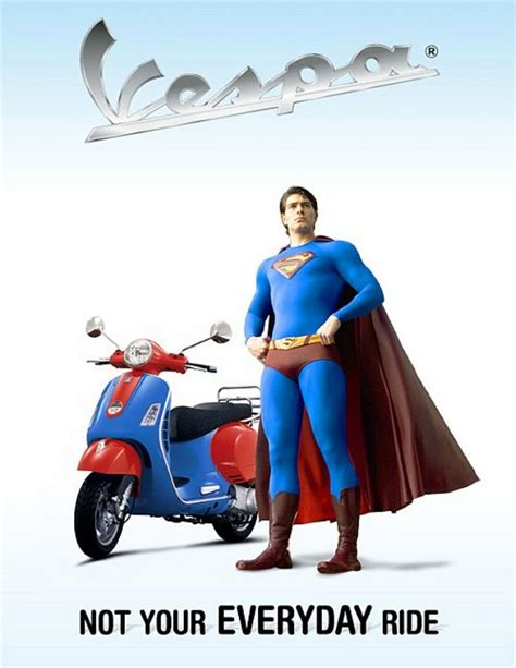 superman   personalized vespa news top speed