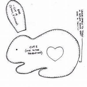 497 best images about bunnies and bunny things on With bunny template for sewing