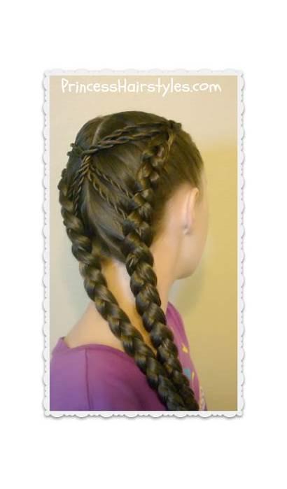 Braid Hairstyles Hourglass Braids Recreate Needed Supplies