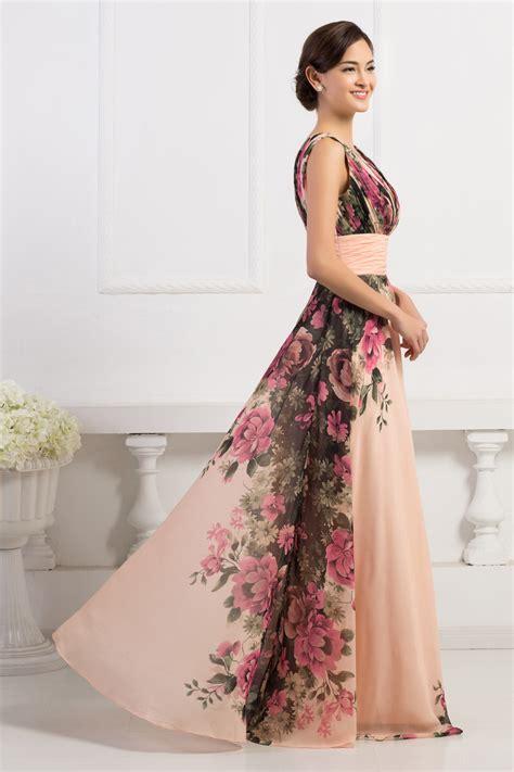 grace karin stock sleeveless flower pattern floral print