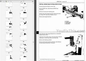 John Deere 8000 8010 Series Repair Manual  Tractor