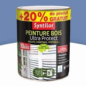 Goudron A Peindre : peinture pour bois ext rieur bleu lavande 2 5l 20 ~ Premium-room.com Idées de Décoration