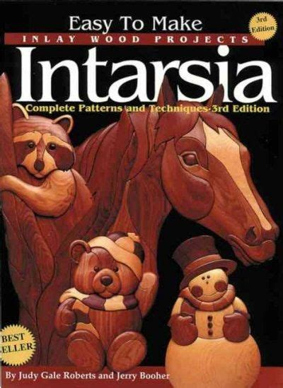 easy   inlay wood products intarsia complete