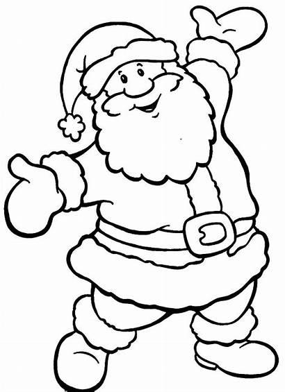 Santa Christmas Coloring Pages Printable Colouring Grinch