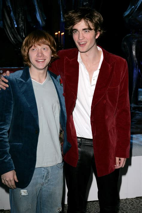 Robert Pattinson Said He Wouldn T Be Acting If Not For Harry