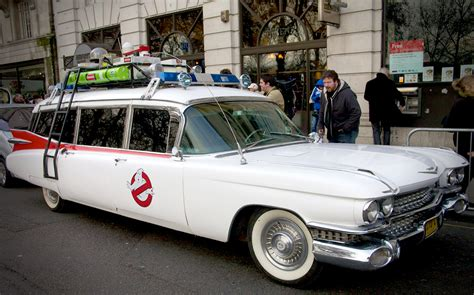 What Is The Ghostbusters Car by Ecto 2 Five Cars For The Ghostbusters