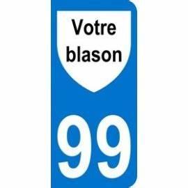Numéro De Plaque D Immatriculation : autocollant d partement plaque d 39 immatriculation r gionale mon blason ~ Maxctalentgroup.com Avis de Voitures