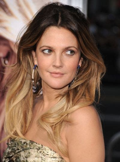 Drew Barrymore Looks Fabulous With Her Gorgeous Long