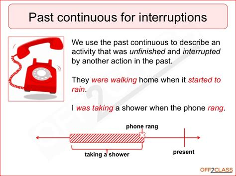 teach the past continuous free lesson content off2class