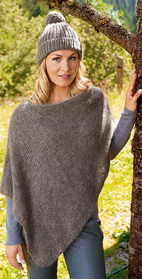strickmuster poncho kostenlos grossa poncho woolhair magdalena 180 s lieblingsmaschen modell 4 filati strickmodelle