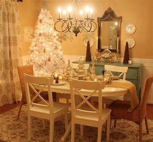 decorating my dining room for christmas hooked on houses With how to decorate my dining room