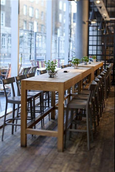 table de cuisine bois table haute cuisine bois maison design modanes com