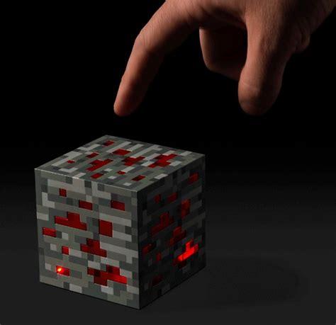 Lit Redstone L Minecraft by Minecraft Light Up Redstone Ore At Mighty Ape Nz