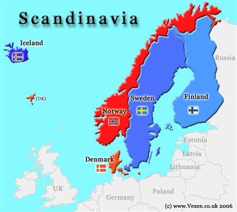 Which For The Nordic Countries Are Scandinavian Countries Way Advanced Than Rest Of