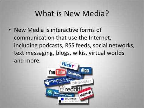 New Media Powerpoint