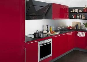 cuisine rouge 10 bonnes raisons de craquer marie With cuisine moderne rouge et noir