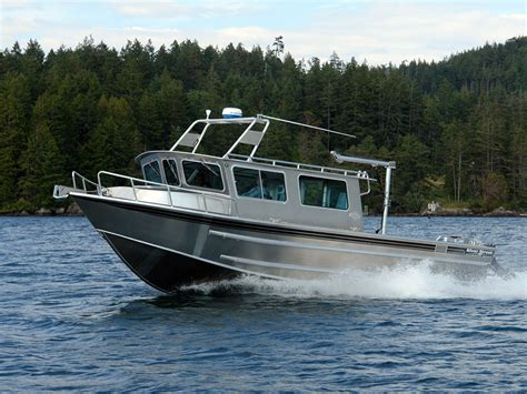 Small Cabin Fishing Boats For Sale by 32 Salish Aluminum Cabin Boat By Silver Streak Boats