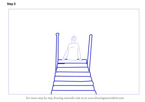 How To Draw A Boat Scene by Learn How To Draw A Person Sitting On Boat Dock Scenes