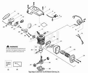Poulan Bh2660 Poulan Pro Gas Saw Parts Diagram For Engine