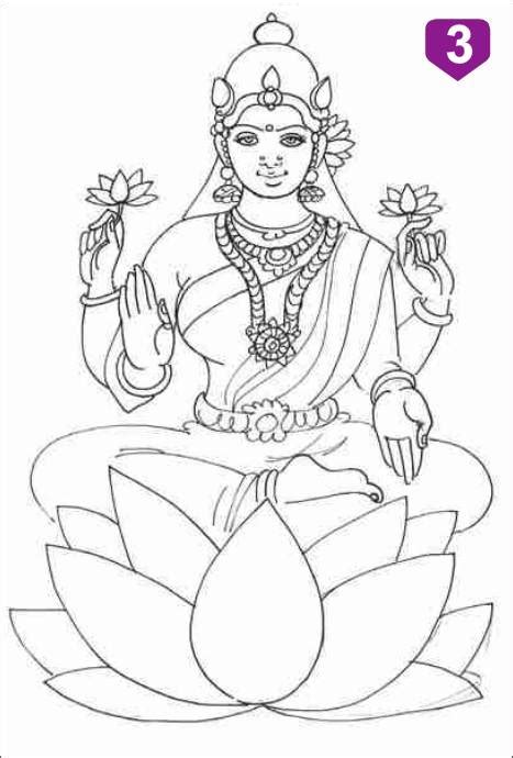 pencil  lord ganesh coloring pages