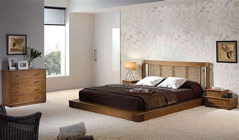 chambre a coucher en bois tête de lit canne de rotin lombock 5026