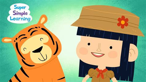 Walking In The Jungle  Super Simple Songs  Place 4 Kids