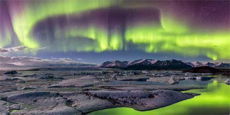 painting kitchen island sascha kilmer iceland auroras above the glacier lagoon