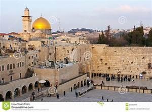Wailing Wall Jerusalem Editorial Stock Image - Image: 33035644