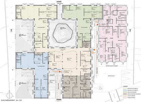 plan de cuisine centrale espace multi accueil quot les girafes quot et cuisine centrale