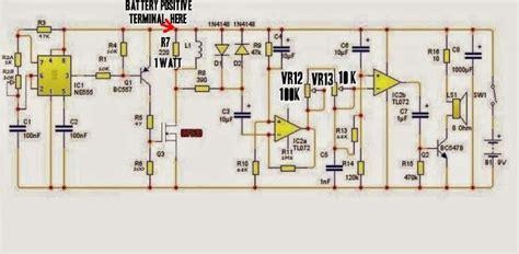 Amateur Built Pirate Russian Metal Detector Circuit