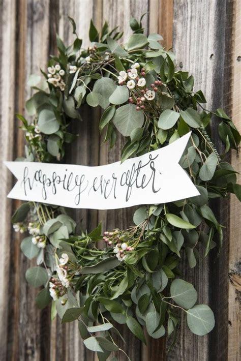greenery eucalyptus wedding ideas   deer pearl