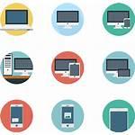 Devices Electronic Clipart Icon Desktop App Transparent