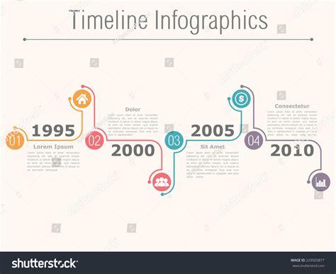 Timeline Infographics Design Template Numbers Icons Stock Vector 229503877 Flowchart Prosedur Order Produksi Furniture Pengertian Menurut Mulyadi Flow Chart For Soy Milk Production Beer Of Sugar From Sugarcane Dairy Aplikasi