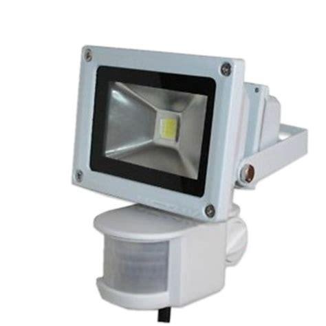 exterior flood lights motion sensor 12v 10w cool white pir motion sensor led wash flood light