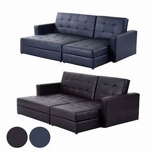 Sofa bed storage sleeper chaise loveseat couch sectional for Sectional sleeper sofa with storage and pillows