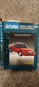 Chilton Acura Integra Legend Vigor 1986