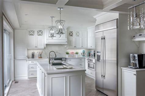 cuisine style cagne chic armoire de cuisine blanche chic et style laval montréal