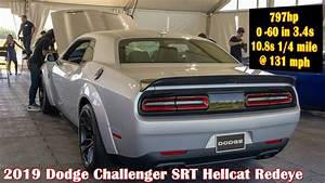 797hp 2019 Challenger HELLCAT REDEYE WIDEBODY - YouTube