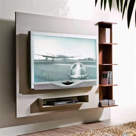 cuisine bois et blanc laqué meuble tv suspendu meuble décoration maison
