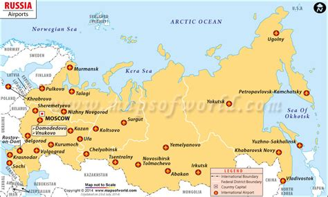 russia airports mapjpg map pictures