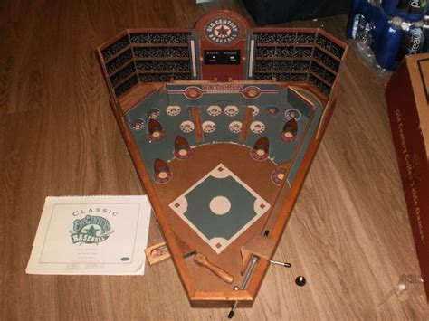 vintage  classic  century wooden baseball table top