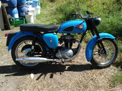 1966 Bsa C15 Classic Motorcycle Pictures