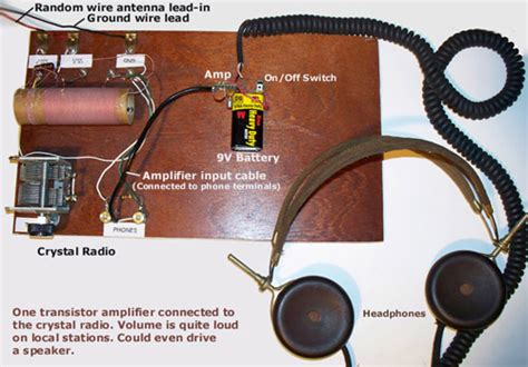 Poor Mans Electronics Web Page One Transistor Audio